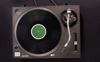 Turntable,modern,vinyl records