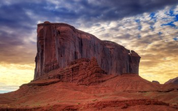 rocks,desert,clouds,sandstone,Monument valley