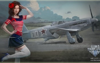 Nikita bolyakov,мир самолетов,girl,World of warplanes,wowp
