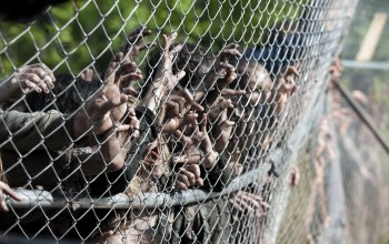 zombies, zombies,season 4,hands,wiring,the walking dead