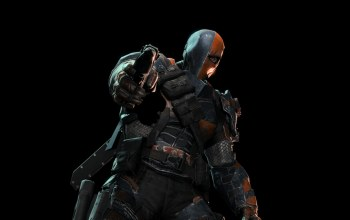deathstroke,batman: летопись аркхема,дезстроук