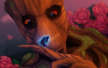 guardians of the galaxy,groot,добряк