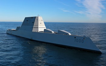 atlantic ocean,multimission ship,Uss zumwalt (ddg 1000)