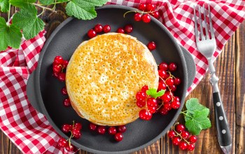блины,currants,pancakes,Блинчики,смородина,food