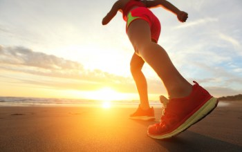 Walking,running,shoes,physical activity,dawn