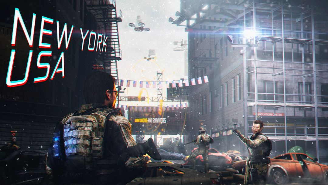улица,crossover,the division,tom clancy,new york,Tom clancys the division