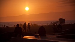 la,summer,Sunset,los angeles,usa,venice beach,california,ocean