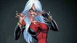felicia hardy,suit,spider-man,Black cat