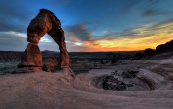 arches national park,Delicate arch,юта