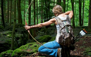 pose,archery,woman,bowhunting