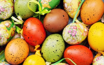 яйца,happy,Easter,eggs,decoration