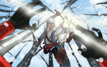кредо убийцы 3,Assassins creed iii,коннор кенуэй