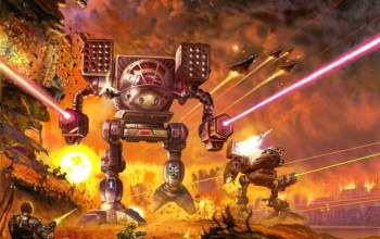 explosions,war,fire,battle,robot,Battletech