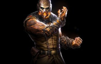 Mortal kombat x,скорпион,warner bros. interactive entertainment,netherrealm studios