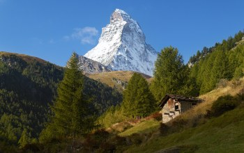 swiss alps,альпы,пик,швейцария,zermatt,маттерхорн