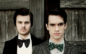 Panic! at the disco,spencer smith,brendon urie