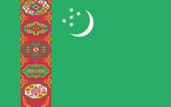 Turkmenistan,colors