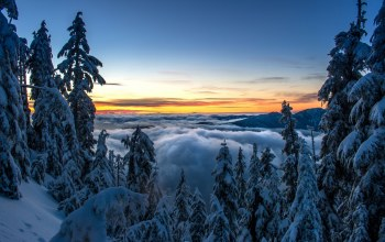 vancouver,canada,горы норт-шор,british columbia,North shore mountains