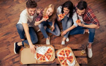 fun,friends,pizza
