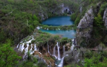 croatia,Plitvice lakes,croatian lakes,скалы,хорватия