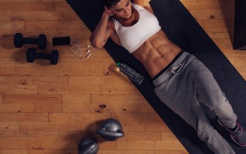female,workout,abs