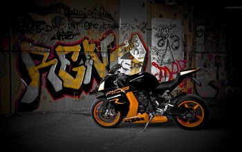 orange,bike,rc8 r,яёрный,диски,Мотоцикл,wheels