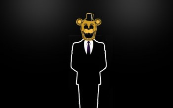 #минимализм,#fnaf,#goldenfreddy