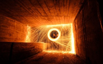 light,tunnel fire,fire