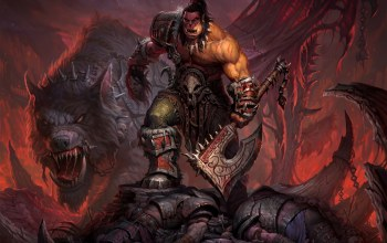 world of warcraft,wow,топор,цепи,warlords of draenor