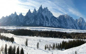 wyoming,сша,Grand teton national park,Облака