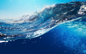 Вода,ocean,волна,blue,wave,splash,sky