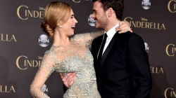 richard madden,Золушка,lily james,премьера