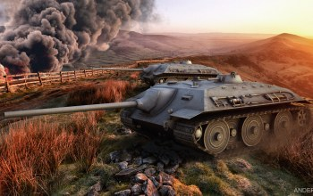 wot,World of tanks,обои,e-25