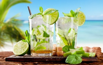summer,lime,tropics,beach,drink,mint,cocktail,лето,тропики