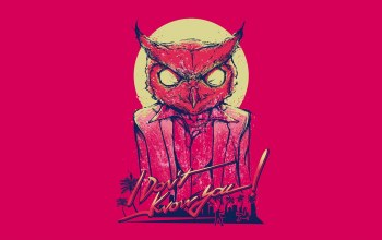 Owl,hotline miami,rasmus,mask