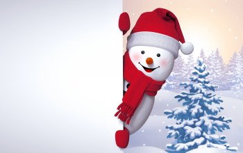 снеговик,Snowman,cute,snow,winter,happy