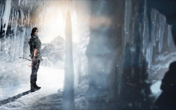 лук,rise of the tomb raider,свет,стрелы