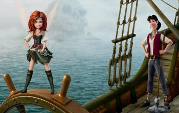 the pirate fairy,фея пиратка,дисней,сабля,феи,зарина
