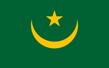 yellow,Mauritania,flag