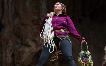 equipment,Attitude,climbing ropes,woman