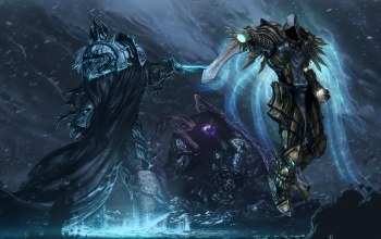 arthas,warcraft,Tyrael,starcraft,archangel of justice