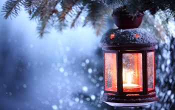 lantern,candle,snow,winter,merry christmas