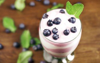 черника,sweet,berries,yogurt