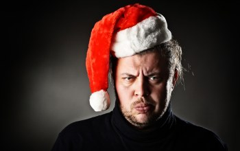 beard,christmas,angry,christmas hat