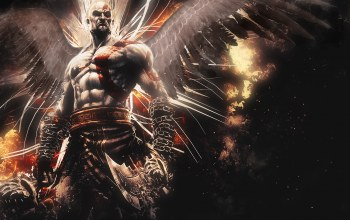 God of war,mighty,wings,blades,God of war: ascension,Abstract,ascension