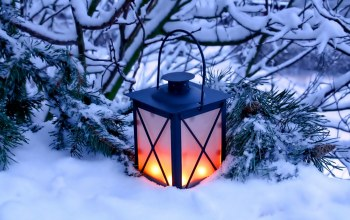 candles,light,snow,winter