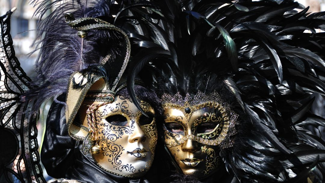 feathers,mask,Carnival of venice