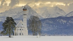 alps,Sankt coloman,церковь святого кальмана,Bavaria,Germany, schwangau