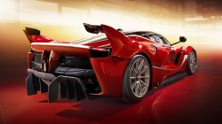Red,supercar,fxx k