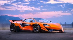 by khyzyl saleem,tuning,supercar,570s,Mclaren,future,orange,experimental